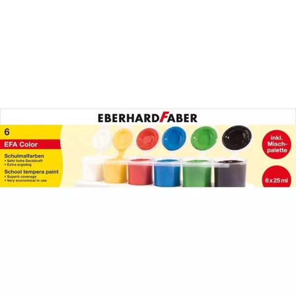 Eberhard Faber Schulmalfarben 6Farben