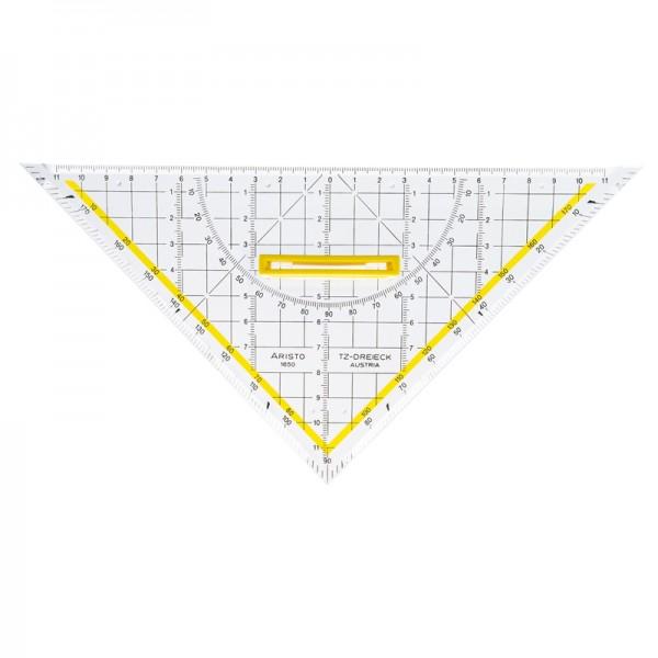 GEOtec Geometrie-Dreieck 25cm TZ