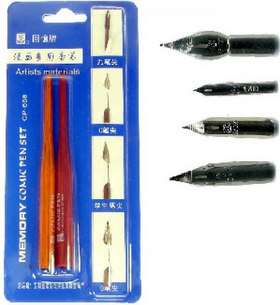 KOH-I-NOOR Schriftfederhalter mit verschiedenen Federn Set