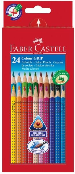 A.W. Faber-Castell Buntstift Colour GRIP 24er