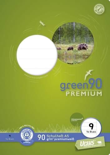 Format Werk Ursus Green 90 A5 Lin.9