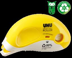 UHU Kleberoller Dry&Clean non-permanent Mehrweg