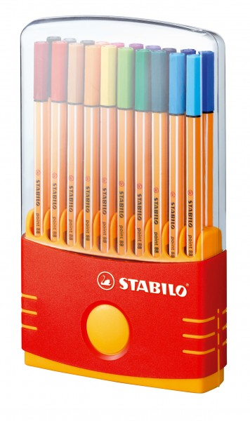 STABILO Fineliner point 88 ColorParade