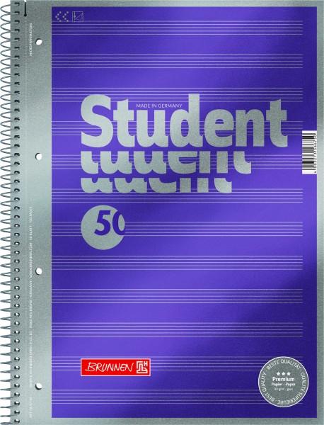 Baier & Schneider Collegeblock A4 Noten 90g Premium