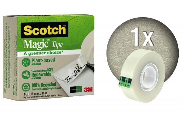 3M Scotch Klebefilm Magic A greener 19mmx30m