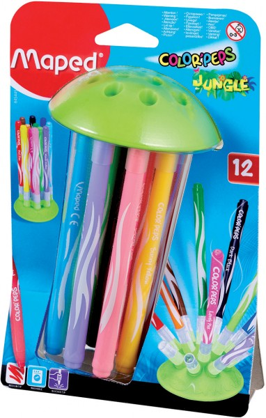 Maped Color-Peps Jungle Innovation 12 Farben
