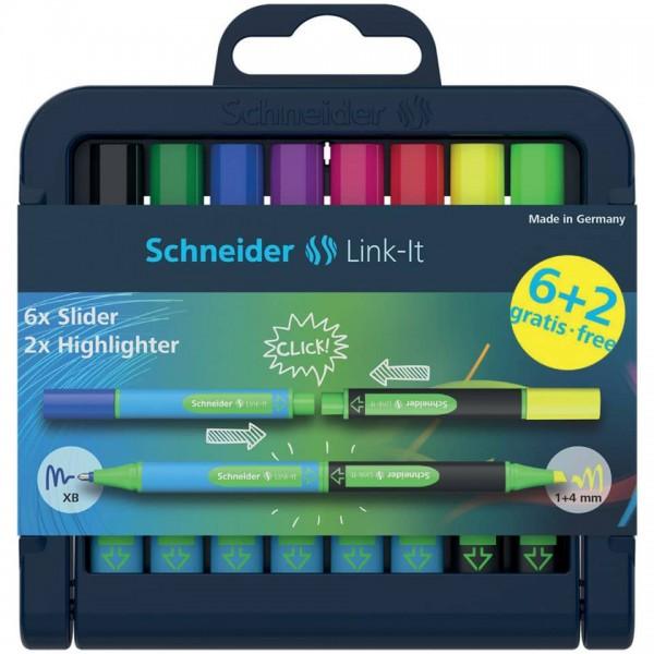 Schneider Schreibgeräte Fineliner Link-It 0,4mm 16er-K-Box