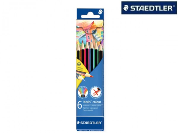 STAEDTLER Farbstift Noris colour 185 6er-Kartonetui