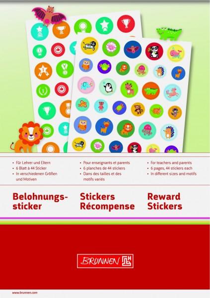 Baier & Schneider Stickerblock Belohnung A5
