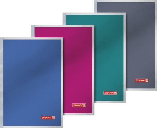 Baier & Schneider Notizbuch A5 kariert Premium Softcover