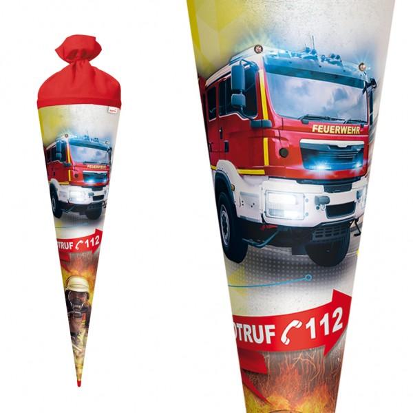 """Roth Schultüte """"Feuerwehr"""" 70cm Licht"""