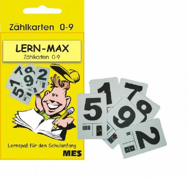 KOH-I-NOOR Zählfix 10 Zählkarten 0-9 in Schachtel