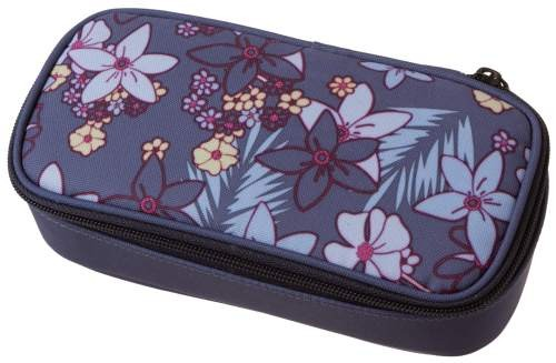 "Schneiders-Vienna Walker Pencil Box Flowers ""Blue"""