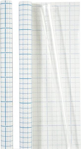 Baier & Schneider Einbandfolie 40 cm transparent selbstklebend