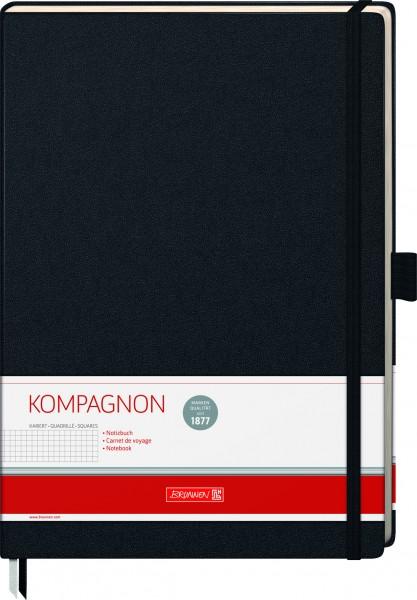 Baier & Schneider Notizbuch A4 kariert Kompagnon