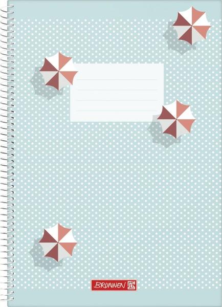 Baier & Schneider Spiralnotizbuch A4 unliniert Colours of Holiday