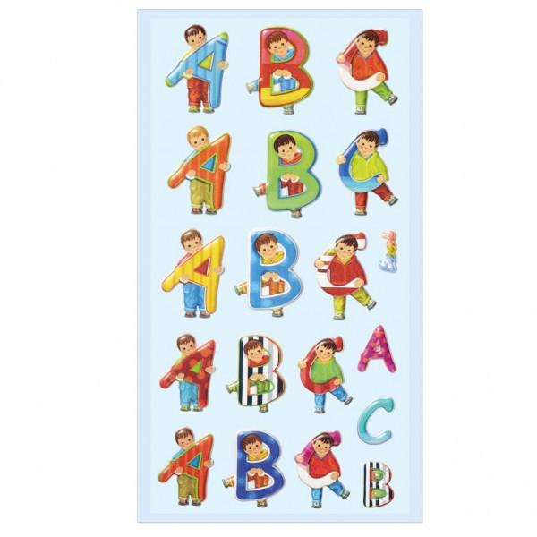 """Roth Soft-Sticker ABC """"Girl & Boy"""""""