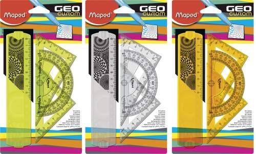 Maped Zeichengarnitur GEO Custom 4 teilig klein
