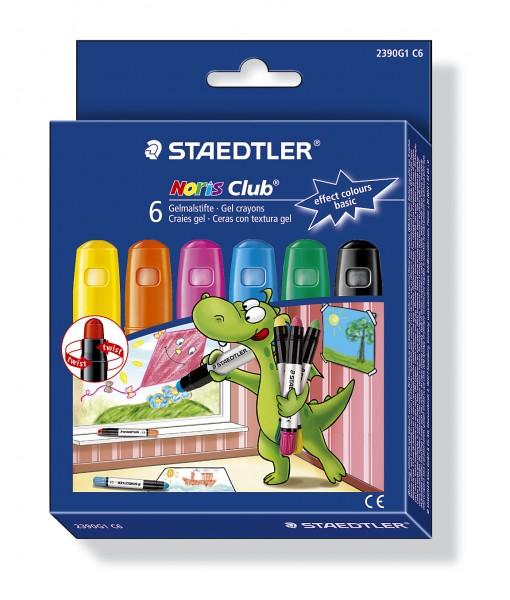 STAEDTLER Gelmalstift Noris Club 2390 Basic 6er-Etui
