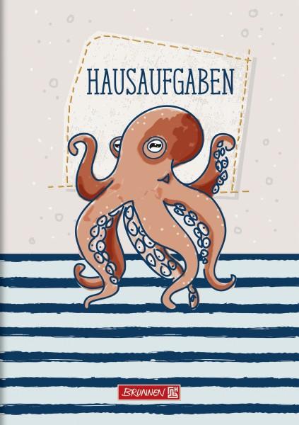 Baier & Schneider Hausaufgabenheft A5 pfiffig 48Blatt Happy Ocean