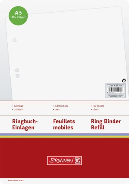 Baier & Schneider Brunnen Ringbucheinlage A5 blanko