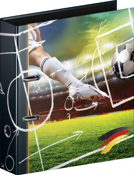 Baier & Schneider Ordner A4 80mm Fußball