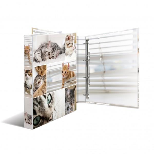 HERMA Ringbuch A4 4R 35mm Katzen