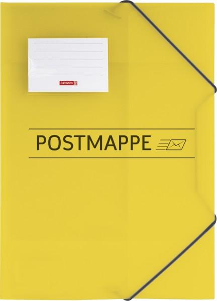 Baier & Schneider Postmappe A4 mit Gummizug PP
