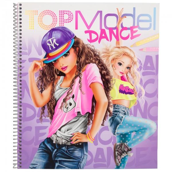 Depesche TOPModel DANCE Malbuch