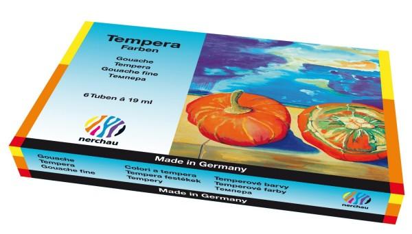 Lukas-Nerchau Tempera-Farben Feine Künstler-Gouache Starterset T 6