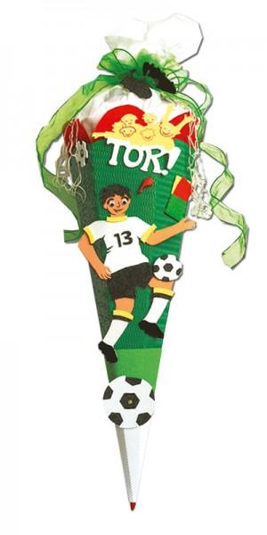 Schultüte Bastelset Fußball 68 cm