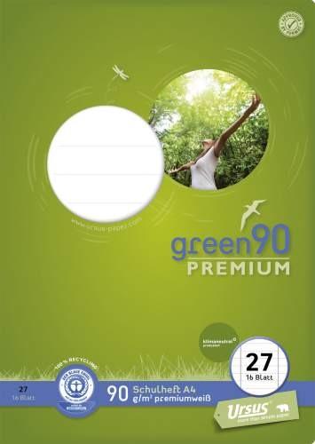 Format Werk Ursus Green 90 A4 Lin.27