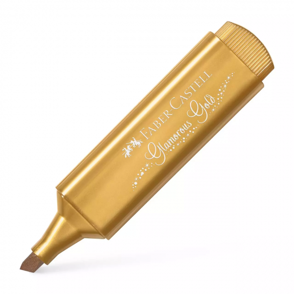 A.W. Faber-Castell Textmarker Textliner 46 metallic gold