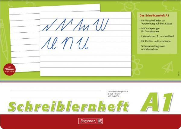 Baier & Schneider Schreiblernheft A4quer Lin.A1