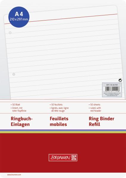 Baier & Schneider Brunnen Ringbucheinlage A4 liniert
