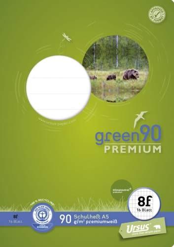 Format Werk Ursus Green 90 A5 Lin.8f