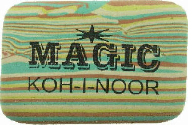 KOH-I-NOOR Radiergummi Magic-color