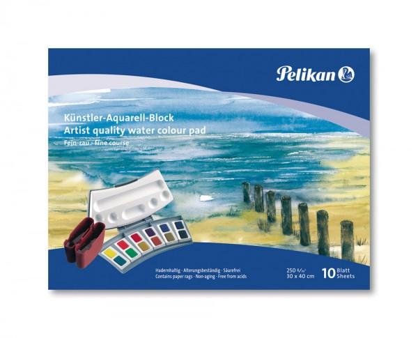 Pelikan Künstler Aquarellblock 40x33cm 250g 10Blatt