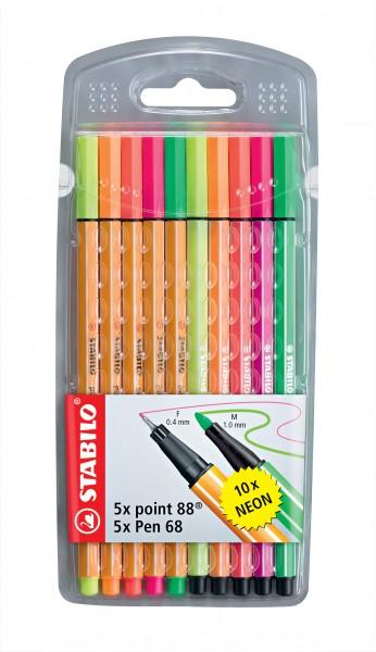STABILO MixPack Leuchtfarben
