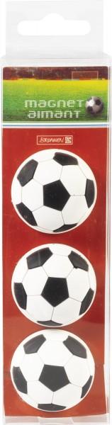 Baier & Schneider Magnet 3er Set Fußball
