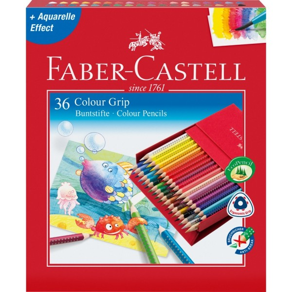 A.W. Faber-Castell Buntstift Colour GRIP 36er