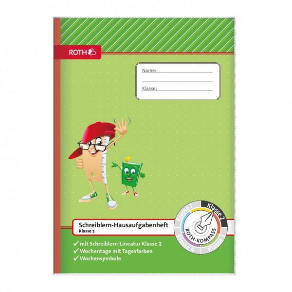 Roth Schreiblern-Hausaufgabenheft A4 Klasse 2