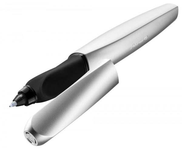 Pelikan Twist Tintenroller Classy Neutrals Silver