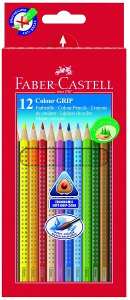 A.W. Faber-Castell Buntstift Colour GRIP 12er