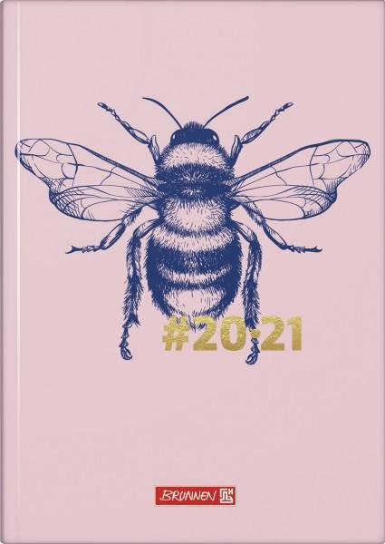 Baier & Schneider Schülerkalender 20/21 A5 1Seite=1Tag Hardcover Harmony