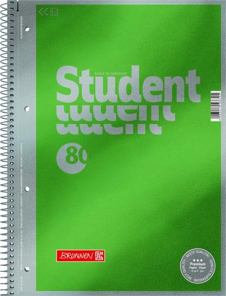 Baier & Schneider Collegeblock A4 unliniert 90g Premium