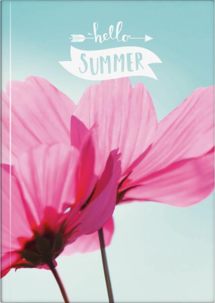 Baier & Schneider Notizbuch A5 kariert Summertime