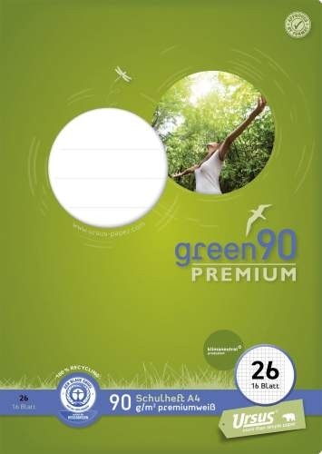 Format Werk Ursus Green 90 A4 Lin.26