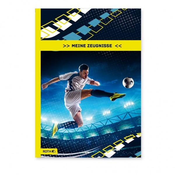 """Roth Zeugnismappe Design """"Fußballer"""" 10Hüllen"""