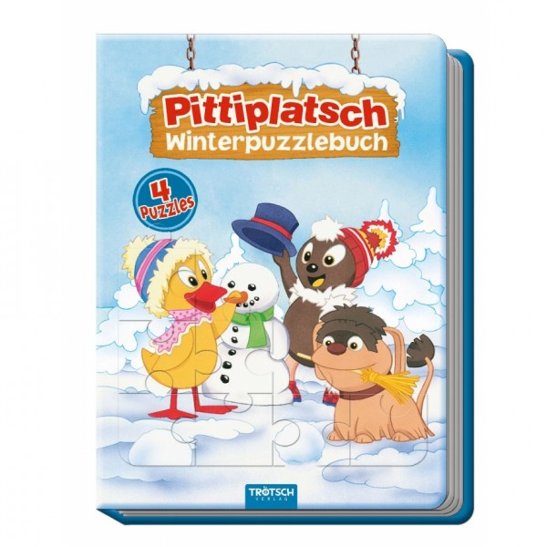 Trötsch Winterpuzzlebuch Pittiplatsch